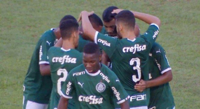Palmeiras não teve trabalho para vencer Galvez-AC na Copa São Paulo