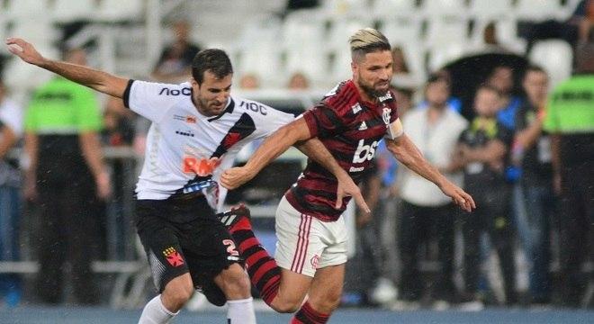 Flamengo venceu o Vasco na primeira partida da final